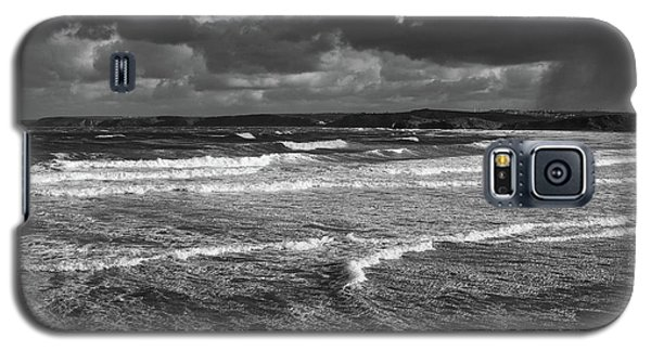Galaxy S5 Case featuring the photograph Ocean Storms by Nicholas Burningham