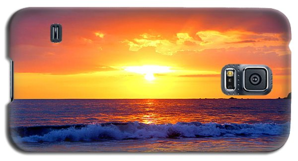 Ocean Sunset Manuel Antonio Costa Rica Galaxy S5 Case by Irina Hays