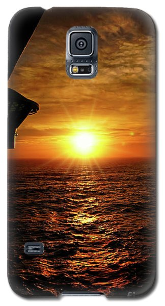 Ocean Sunset Galaxy S5 Case by Sue Melvin