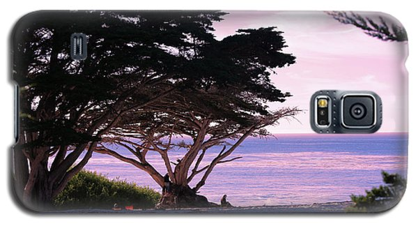 Ocean Views From Carmel Beach  Galaxy S5 Case