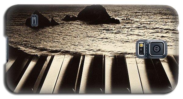 Ocean Washing Over Keyboard Galaxy S5 Case