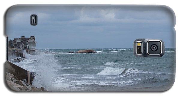 Ocean Waves At Minot Beach Galaxy S5 Case