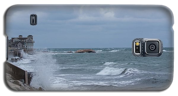 Ocean Waves At Minot Beach Galaxy S5 Case