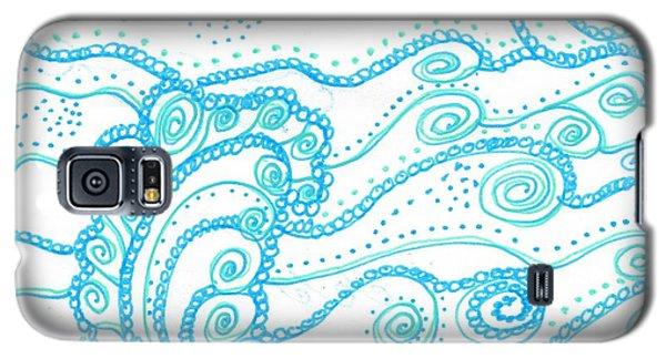 Ocean Waves Galaxy S5 Case