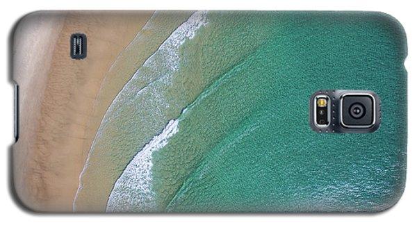 Ocean Waves Upon The Beach Galaxy S5 Case