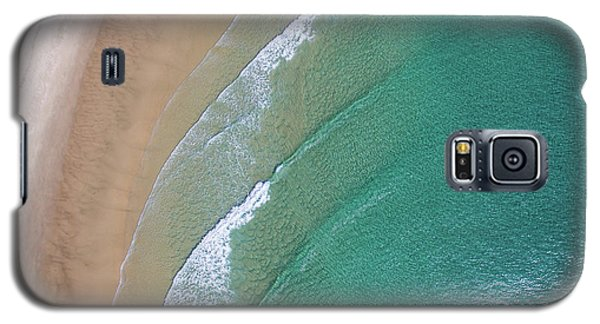 Ocean Waves Upon The Beach Galaxy S5 Case