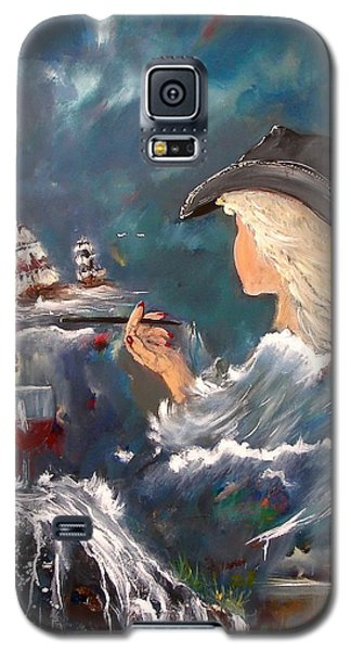 Ocean Wine Galaxy S5 Case