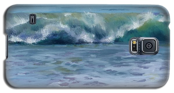 Galaxy S5 Case featuring the painting Ocean Zen by Sandy Fisher
