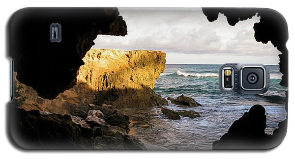 Oceanfront Cave Galaxy S5 Case
