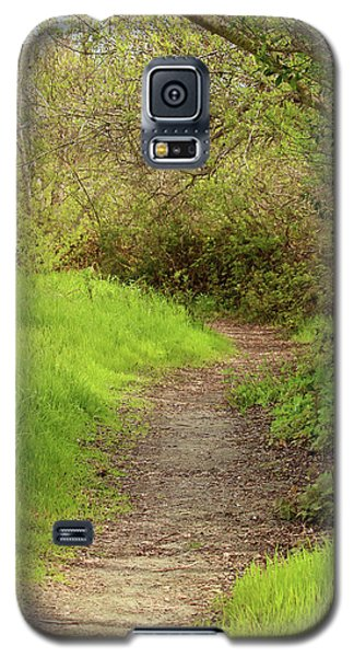 Galaxy S5 Case featuring the photograph Oceano Lagoon Trail by Art Block Collections
