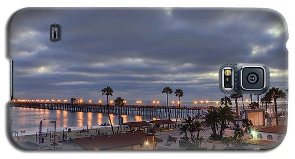 Oceanside Pier At Dusk Galaxy S5 Case