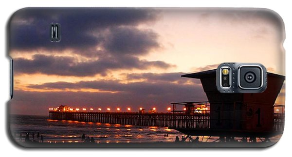 Galaxy S5 Case featuring the photograph Oceanside Pier by Christopher Woods