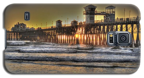 Oceanside Pier Hdr  Galaxy S5 Case