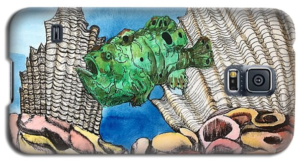 Ocellated Frogfish Galaxy S5 Case