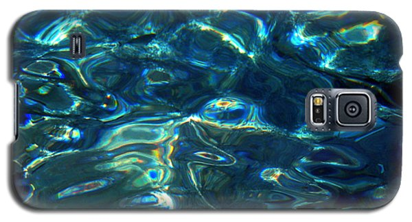 Ocean Water Reflections Island Santorini Greece Galaxy S5 Case