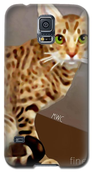 Ocicat Galaxy S5 Case by Marian Cates