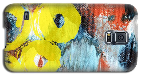 Niagra Falls Galaxy S5 Case - October- Abstract Art By Linda Woods by Linda Woods