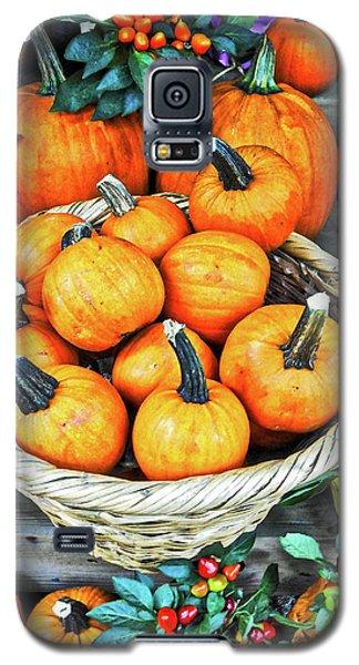 October Pumpkins Galaxy S5 Case