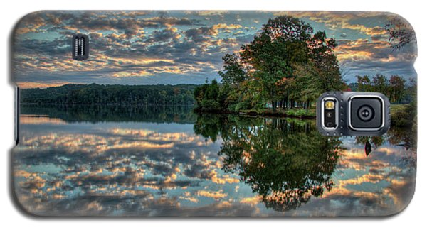Galaxy S5 Case featuring the photograph October Skies by Douglas Stucky