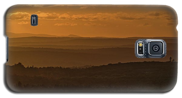 October Sunset In Acadia Galaxy S5 Case