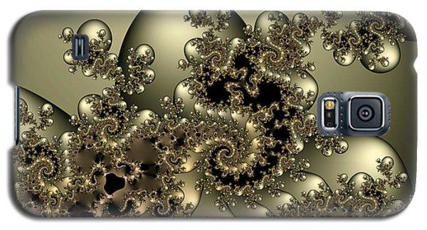 Galaxy S5 Case featuring the digital art Octopus by Karin Kuhlmann