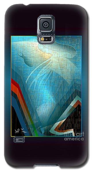 Octopus Galaxy S5 Case by Leo Symon