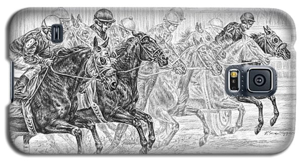 Odds Are... - Tb Race Horse Print Galaxy S5 Case