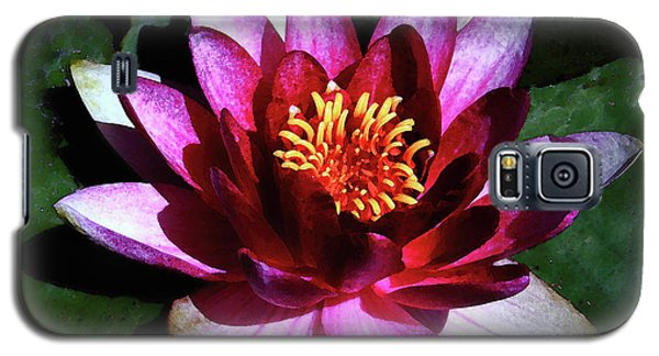 Galaxy S5 Case featuring the photograph Ode To The Water Lily by Polly Peacock