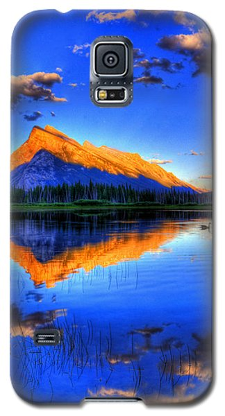 Galaxy S5 Case featuring the photograph Of Geese And Gods by Scott Mahon