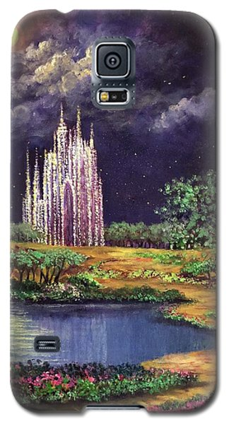 Of Glass Castles And Moonlight Galaxy S5 Case
