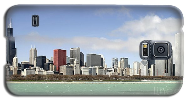 Off The Shore Of Chicago Galaxy S5 Case by Ricky L Jones