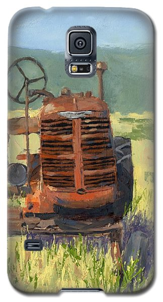 Offset High Crop Galaxy S5 Case