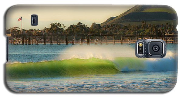 Offshore Wind Wave And Ventura, Ca Pier Galaxy S5 Case by John A Rodriguez