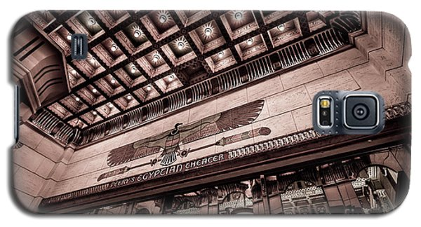 Ogden's Historic Peery's Egyptian Theater At Night  Galaxy S5 Case by Gary Whitton
