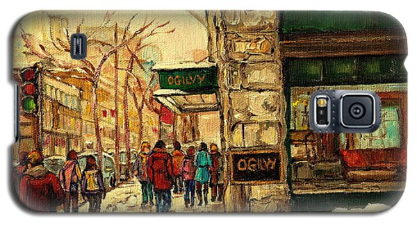 Ogilvys Department Store Downtown Montreal Galaxy S5 Case