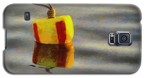 Galaxy S5 Case featuring the painting Oh Buoy by Jeff Kolker