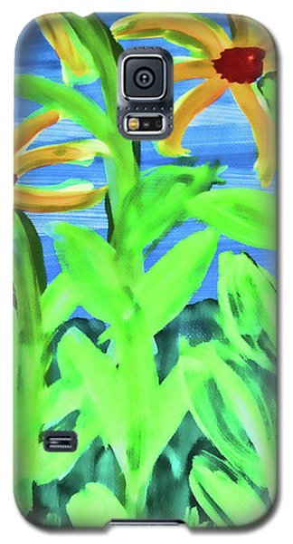 Oh Glorious Day Floral Galaxy S5 Case