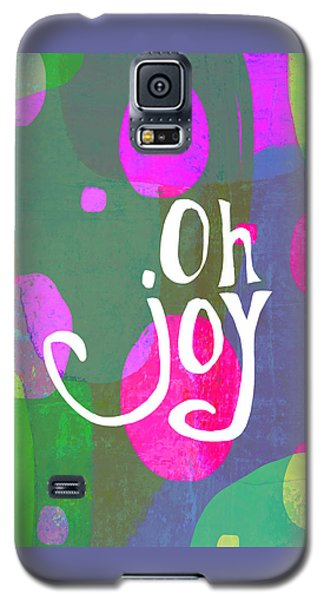 Galaxy S5 Case featuring the painting Oh Joy by Lisa Weedn