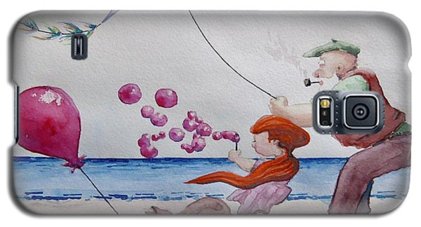 Oh My Bubbles Galaxy S5 Case by Geni Gorani