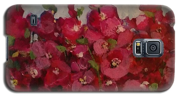 Oh My Hollyhocks Galaxy S5 Case