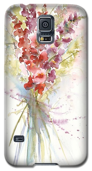 Galaxy S5 Case featuring the painting Oh Snap by Sandra Strohschein