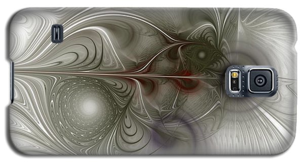 Galaxy S5 Case featuring the digital art Oh That I Had Wings - Fractal Art by NirvanaBlues