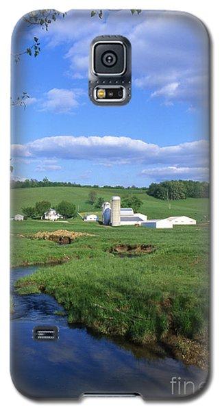 3d203 Ohio Farm Photo Galaxy S5 Case