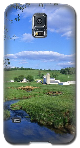 3d203 Ohio Farm Photo Galaxy S5 Case