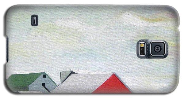 Ohio Farmland- Red Barn Galaxy S5 Case