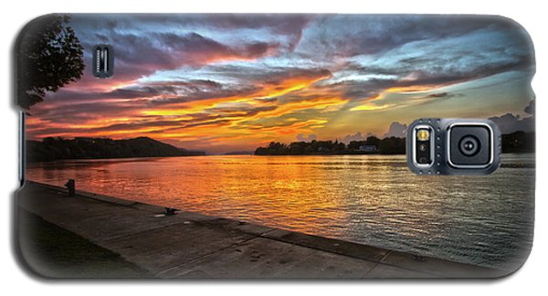 Ohio River Sunset Galaxy S5 Case