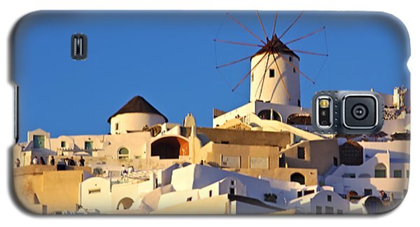 Oia Windmill Galaxy S5 Case