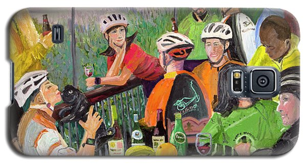 Oil- Luncheon Of The Cycling Party Galaxy S5 Case
