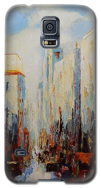 Oil Msc 059 Galaxy S5 Case