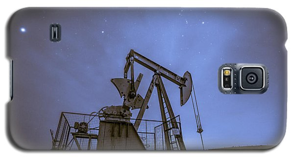 Oil Rig And Stars Galaxy S5 Case